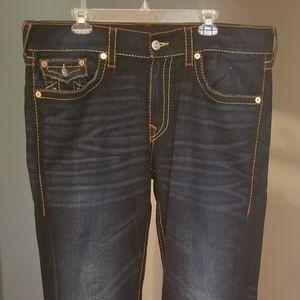 807aa0dc35049 True Religion Jeans   Mens Moto Overall Body Rinse   Poshmark